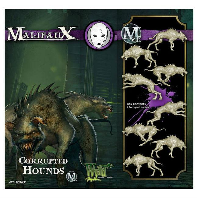 Malifaux: Corrupted Hounds M2E Miniatures