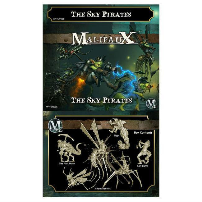 Malifaux: Gremlins – The Sky Pirates (Zipp Crew)