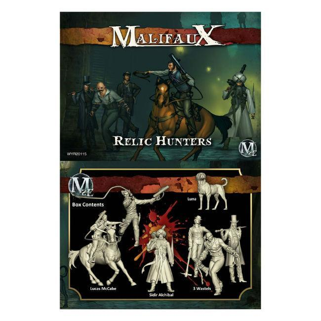 Malifaux: Guild Relic Hunters Model Kit (7 Pack)