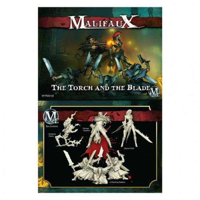 Malifaux: Guild Torch and The Blade Crew Model Kit