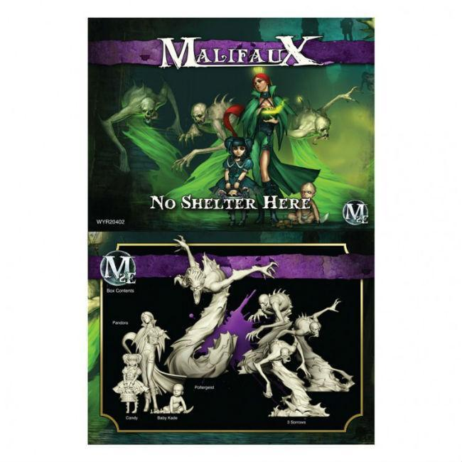 Malifaux: Neverborn No Shelter Here Model Kit