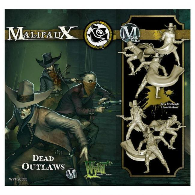 Malifaux: Outcasts Dead Outlaws Miniatures Wyrd Miniatures