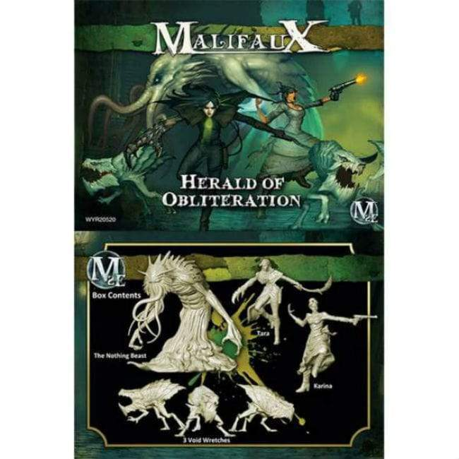 Malifaux: Outcasts- Herald of Obliteration Tara Crew