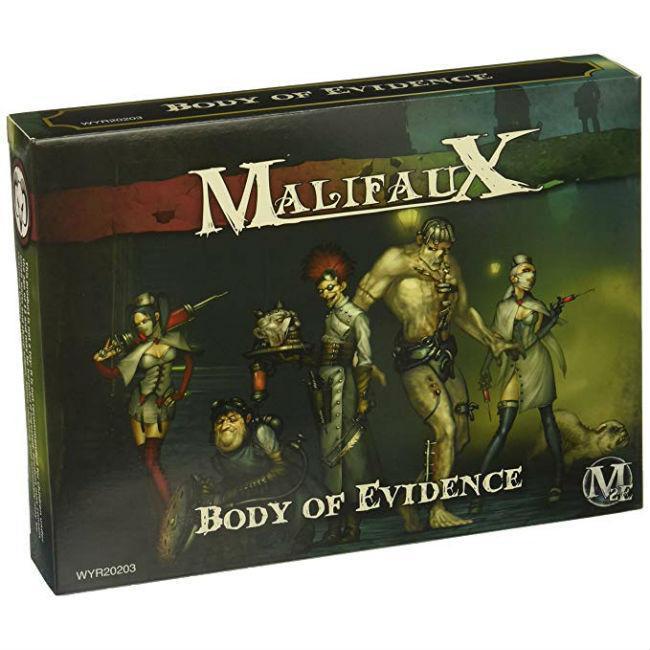 Malifaux Resurrectionists: Body of Evidence Crew
