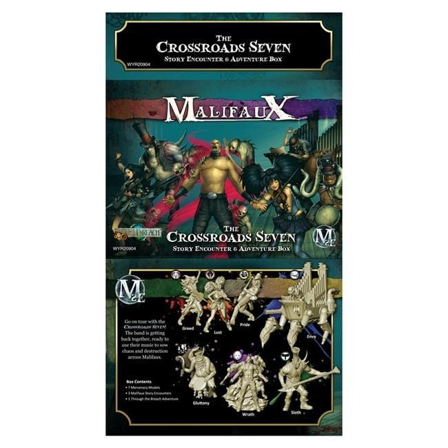Malifaux: The Crossroads Seven - Story Encounter and Adventure Box Miniatures Wyrd Miniatures