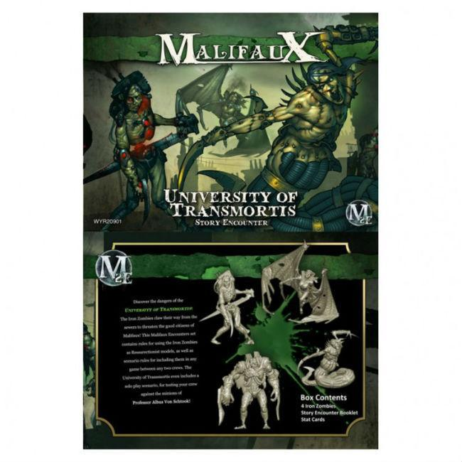 Malifaux: University of Transmortis