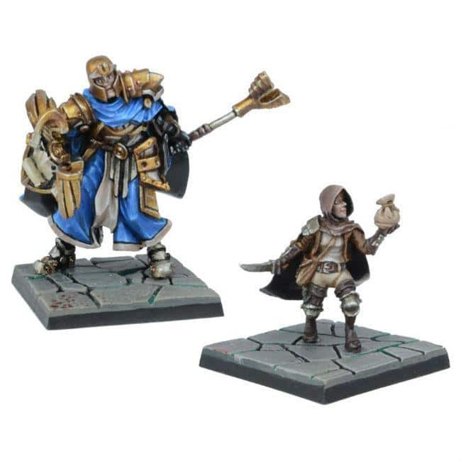 Mantic: Dungeon Saga  Legendary Heroes of Halpi Miniatures
