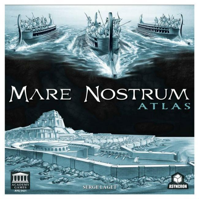 Mare Nostrum Atlas Expansion Game
