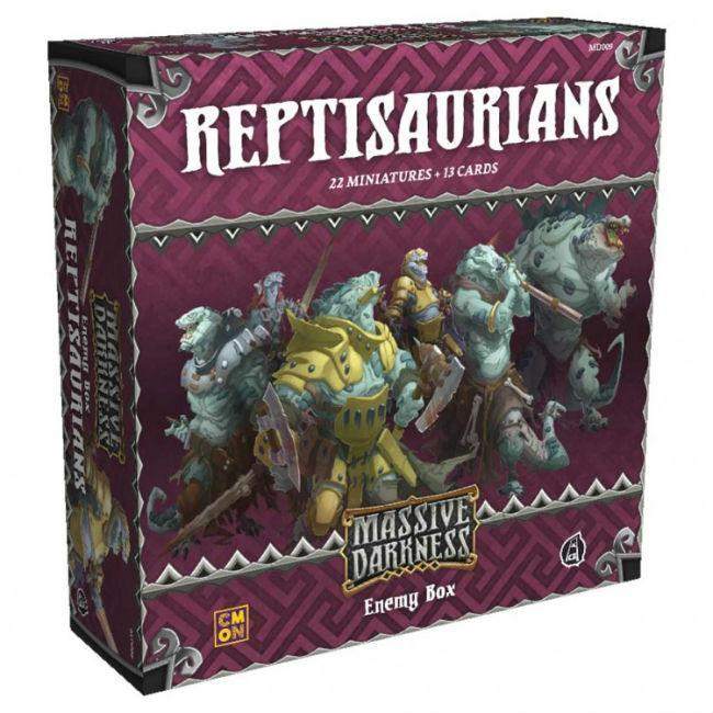 MD: Enemy Box: Reptisaurians Board Game CMON