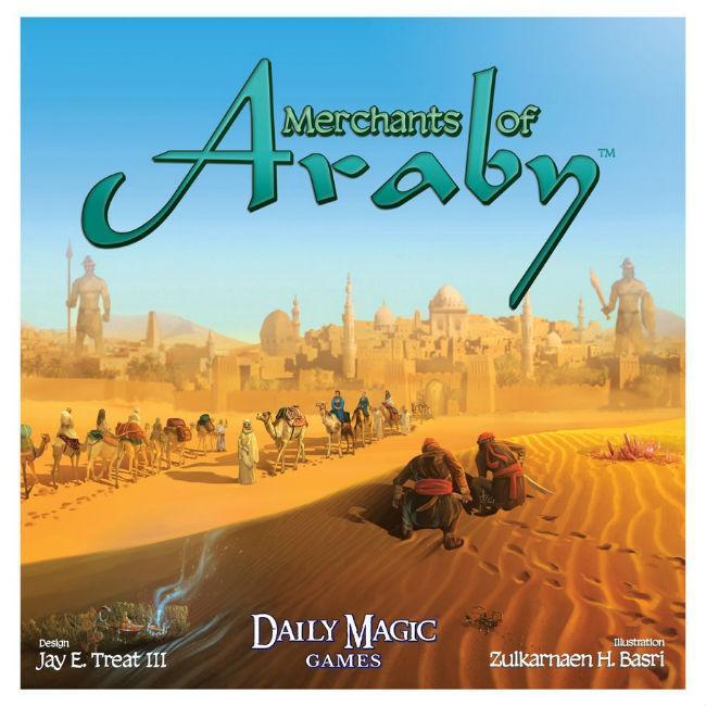 Merchants of Araby Board Games