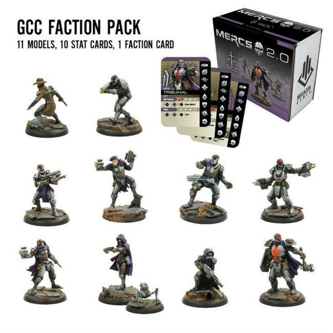 MERCS 2.0: GCC Miniatures Megacon Games