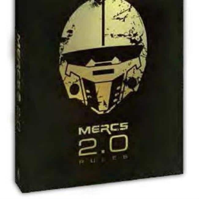 MERCS Game Rules 2nd Edition Miniatures DiceyGoblin