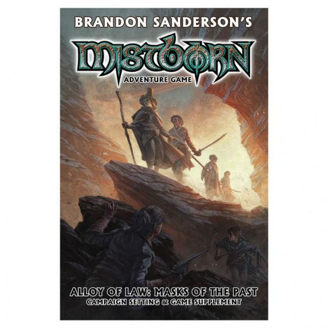Mistborn: Alloy of Law: Masks of the Past