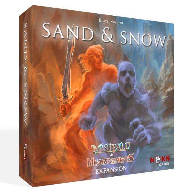 Mistfall Sand and Snow Board Game