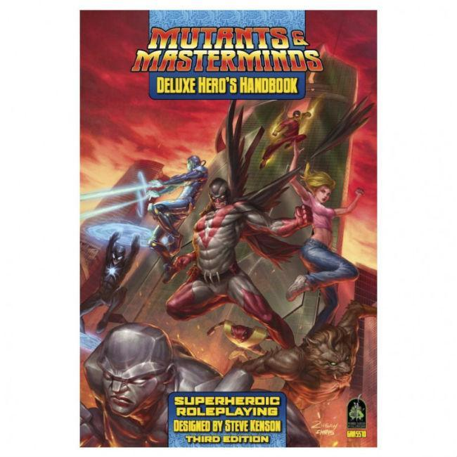 MM: Deluxe Hero's Handbook Role Playing Games Green Ronin Publishing