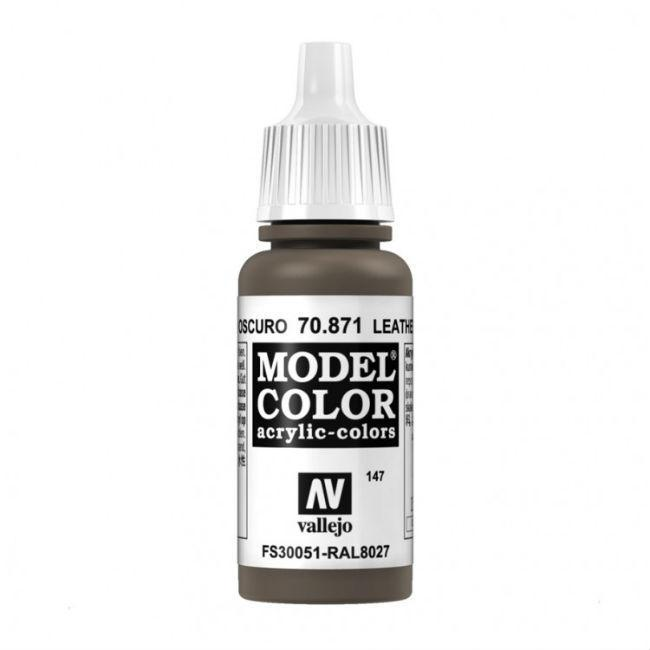 Model Color Leather Brown Paint, 17ml