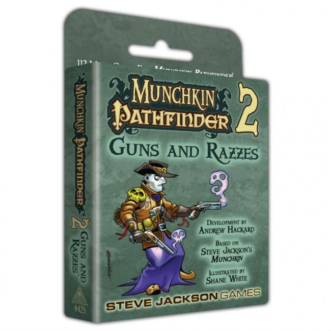 Munchkin Pathfinder 2: Guns & Razzes