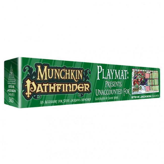 Munchkin Pathfinder Play Mat Unaccounted For