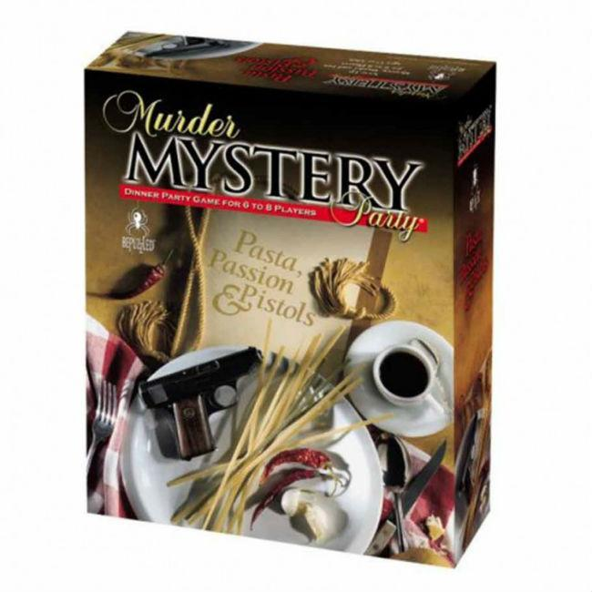 Murder Mystery Party – Pasta, Passion and Pistols