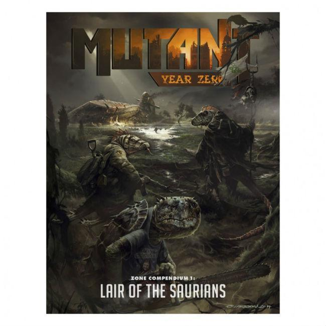 Mutant: Year Zero: Lair of the Saurians