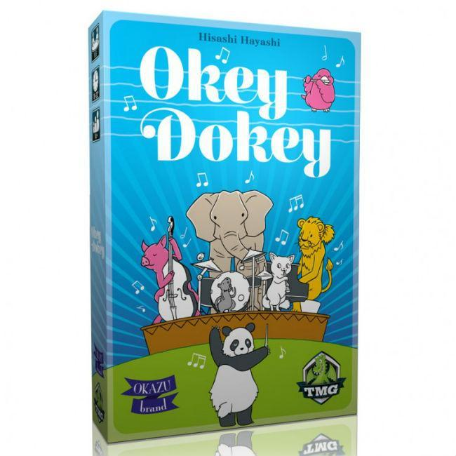 Okey Dokey Board Game Tasty Minstrel Games