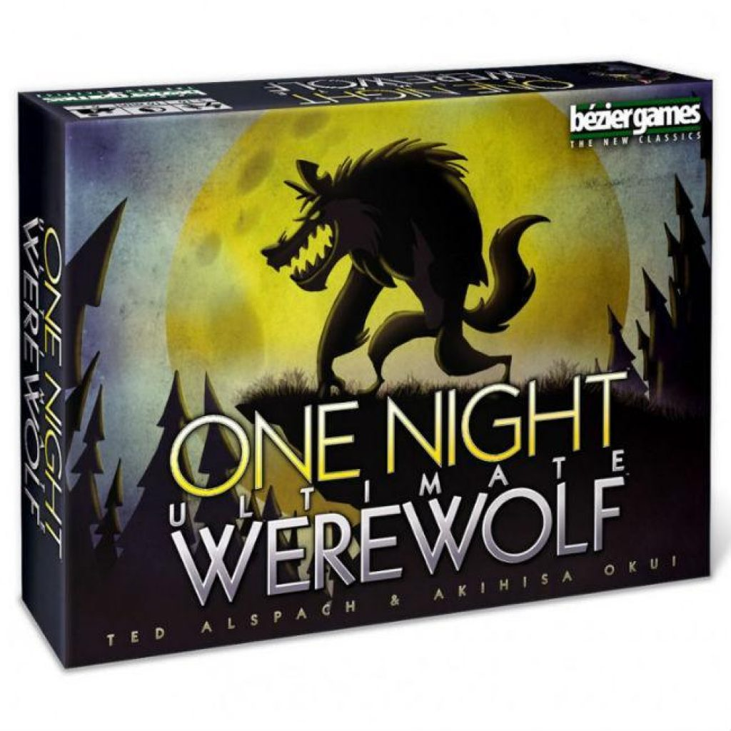 One Night Ultimate Werewolf Board Game Bezier Games