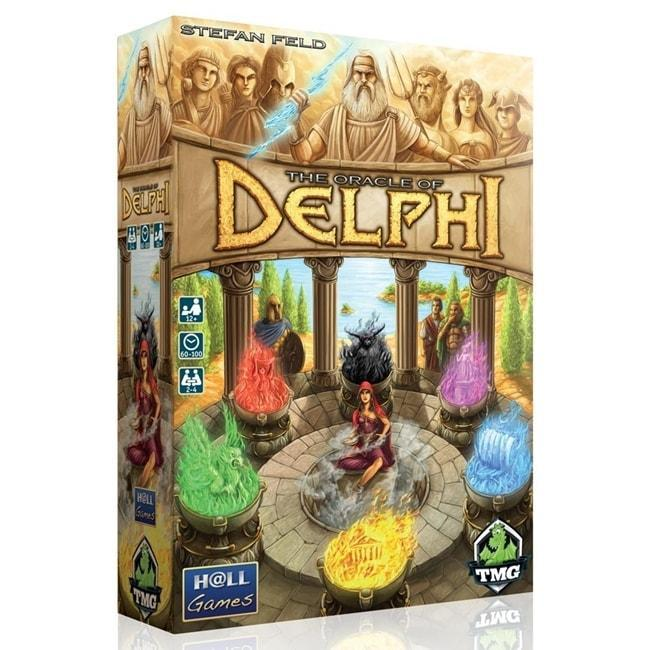 Oracle Of Delphi,The Board Game (2 – 4 Players)