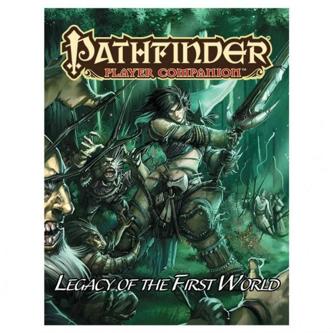 Pathfinder Player Companion: Legacy of the First World CLEARANCE Paizo