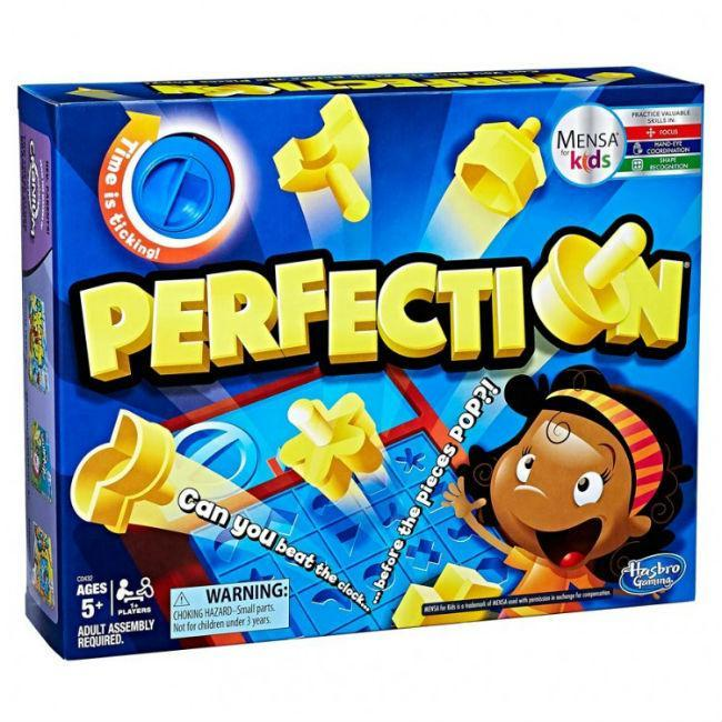 Perfection (refresh) Board Game Hasbro