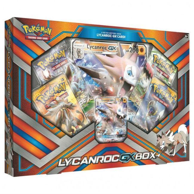 PKM: Lycanroc GX Box