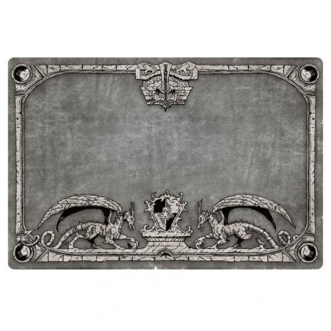Play Mat Dragon Shield Silver