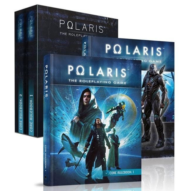 Polaris RPG: Core Rulebook Deluxe Set Role Playing Games Black Book Editions