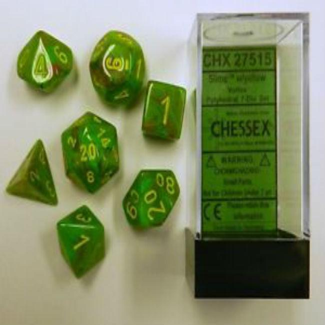 Polyhedral Vortex Dice Slime Yellow (7)