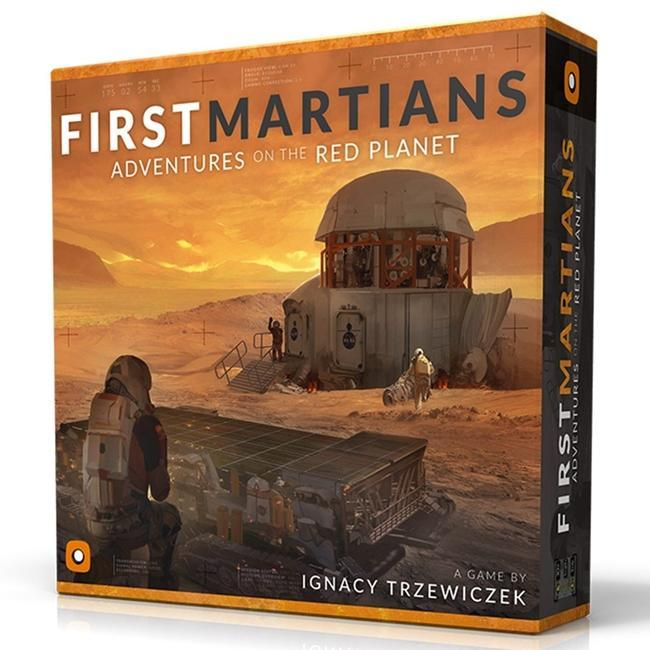 Portal Games First Martians Board Game