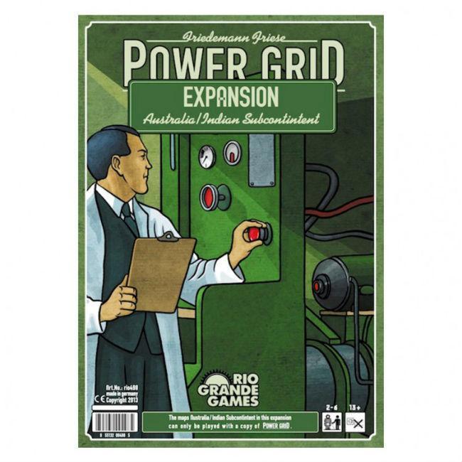 Power Grid: India/Australia Expansion