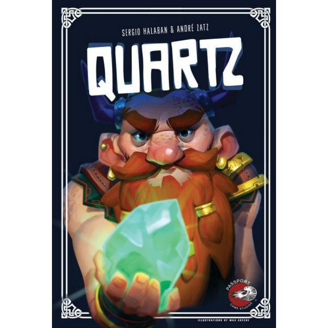 Quartz Board Game Passport Game Studios