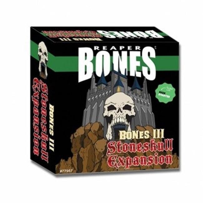 Reaper Miniatures Bones 3 Stoneskull Expansion Boxed Set  #77957 30 Plastic Minis