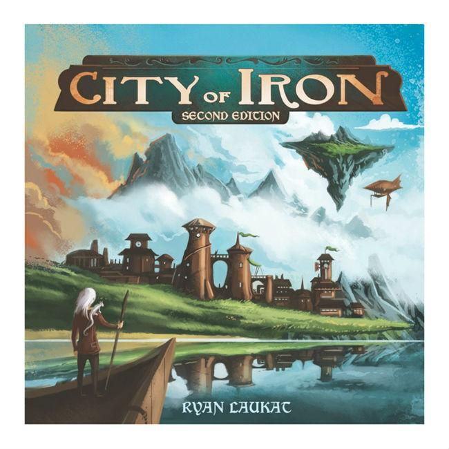 Red Raven Games: City of Iron 2nd Edition Board Game Red Raven Games