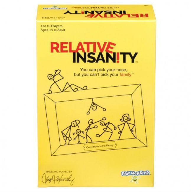 Relative Insanity Board Game PlayMonster