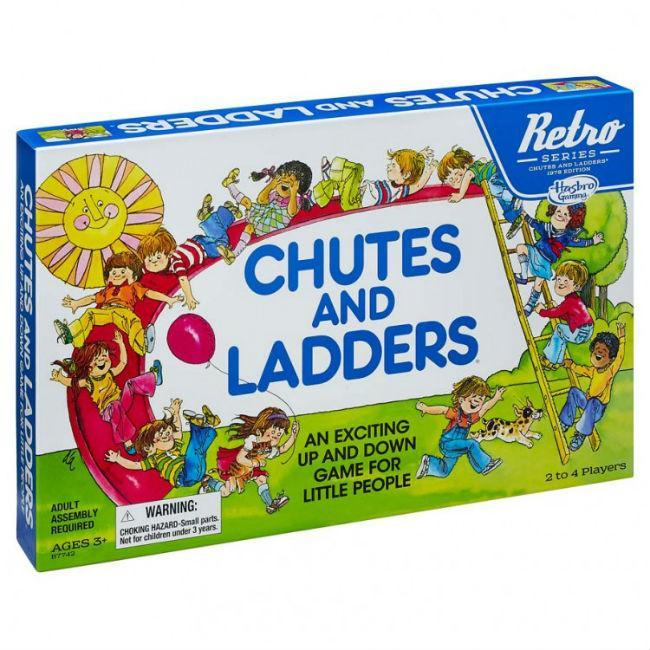 Retro Chutes and Ladders
