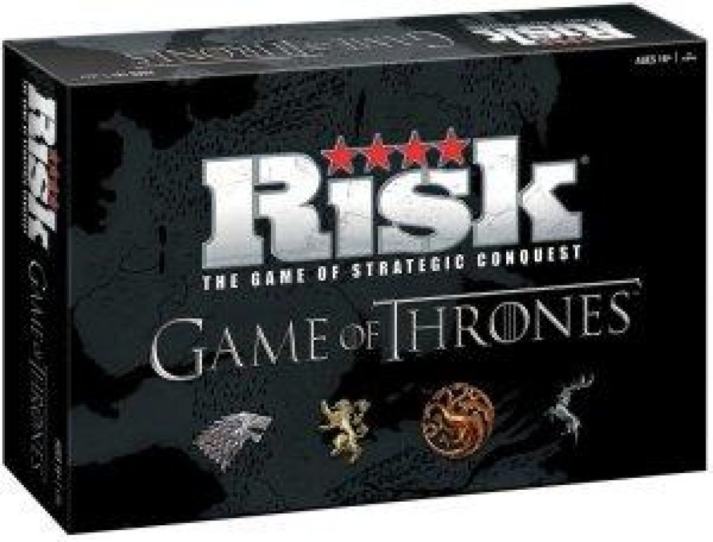 Risk Game of Thrones Thanksgiving Board Game