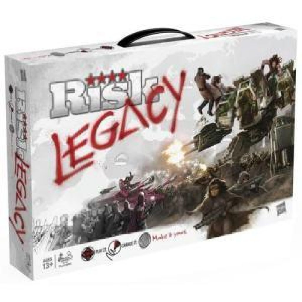 Risk Legacy a Thanksgiving Board Game