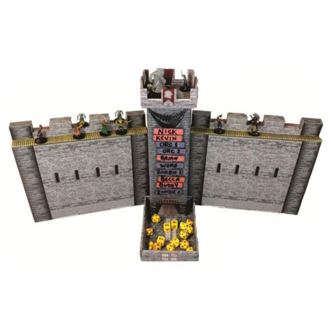 Role 4 Initiative Castle Keep Dice Tower and DM Screen Role Playing Game