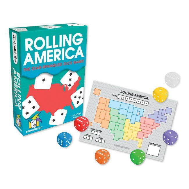 Rolling America Dice Action Game