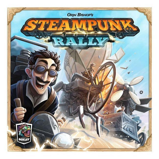Roxley Steampunk Rally Board Game