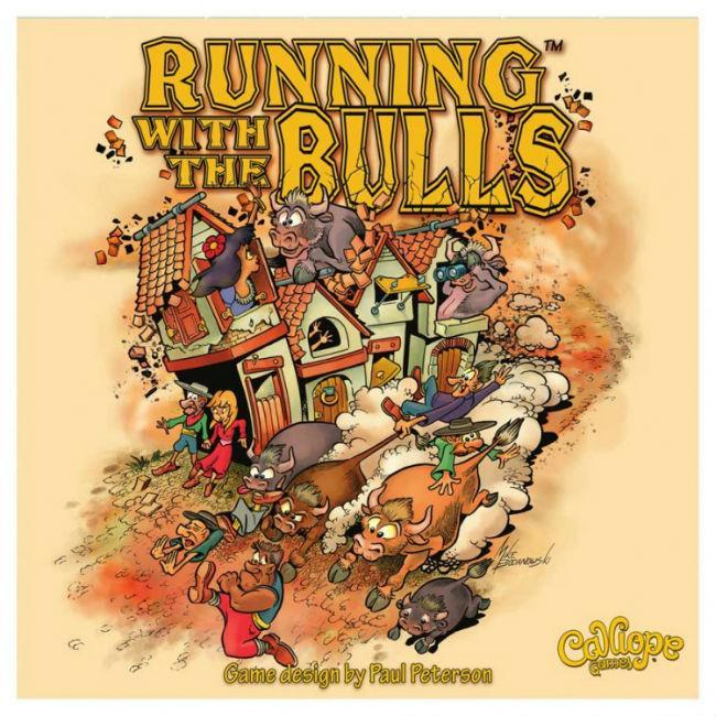 Running with The Bulls Board Game Calliope Games