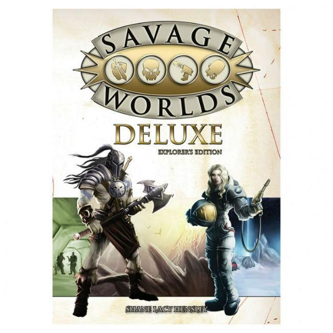 Savage Worlds Deluxe Explorer's Edition