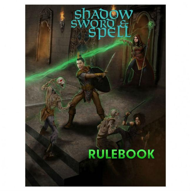 Shadow Sword & Spell 2nd Edition