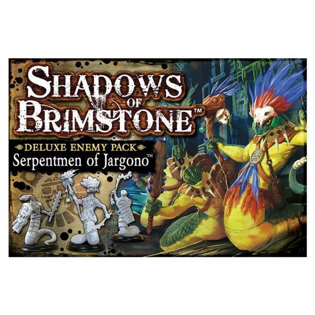 Shadows of Brimstone: Serpentmen of Jargono Board Game Flying Frog Productions