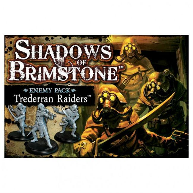 Shadows of Brimstone Trederran Raiders Enemy Pack